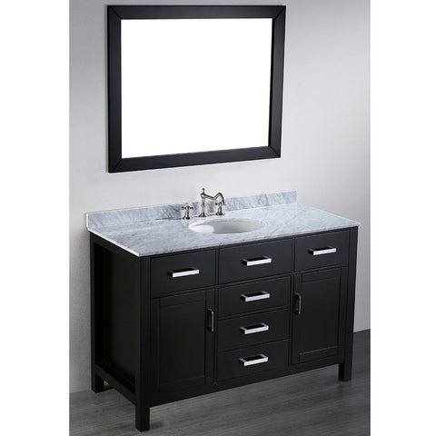 Bosconi 49'' Contemporary Single Vanity - SB-252-6 - Bath Vanity Plus