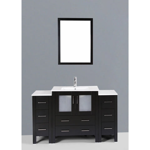 "Bosconi 54"" Single Vanity - AB130U2S - Bath Vanity Plus"