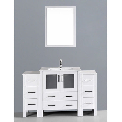 "Bosconi 54"" Single Vanity - AW130U2S - Bath Vanity Plus"