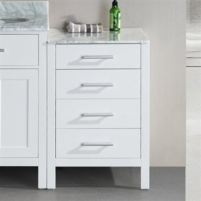 Design Element 20″ London Cabinet in White - DEC076MCAB-W - Bath Vanity Plus