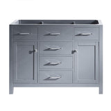 "Caroline 48"" Cabinet Only in Grey"