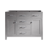 "Caroline 48"" Cabinet Only in Cashmere Grey"