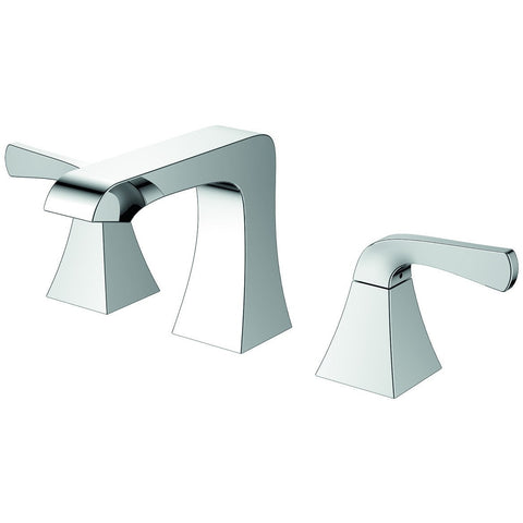 EVIVA Butterfly® Brushed Nickel Widespread (2 Handles) Bathroom Faucet- EVFT277BN - Bath Vanity Plus