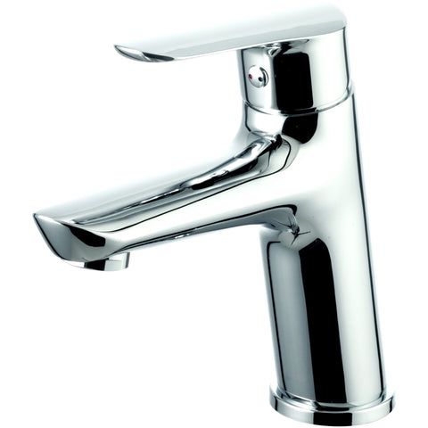 EVIVA Serin® Brushed Nickel Single Hole/Handle Bathroom Sink Faucet - EVFT342BN - Bath Vanity Plus