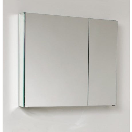 "Eviva Lazy 30"" Mirrored Medicine Cabinet (no lights) - EVMR750-26GL - Bath Vanity Plus"