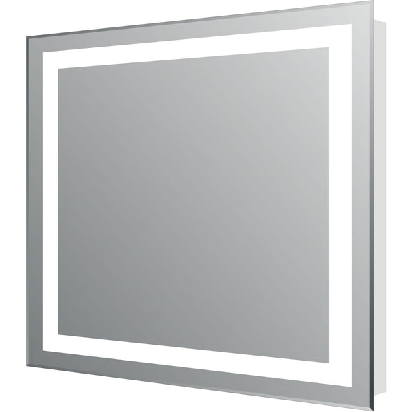 "Eviva Lite 24"" Modern Bathroom Vanity Backlit LED Mirror - EVMR34-24X30-LED - Bath Vanity Plus"
