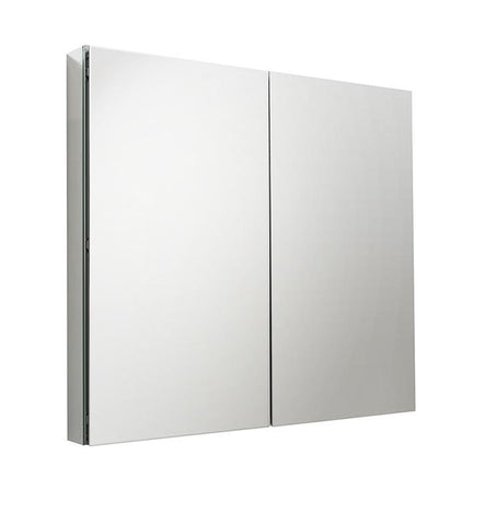 "Fresca 40"" Wide x 36"" Tall Bathroom Medicine Cabinet w/ Mirrors"