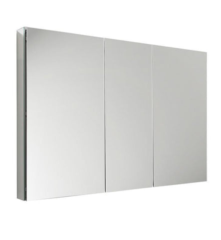 "Fresca 50"" Wide x 36"" Tall Bathroom Medicine Cabinet w/ Mirrors"
