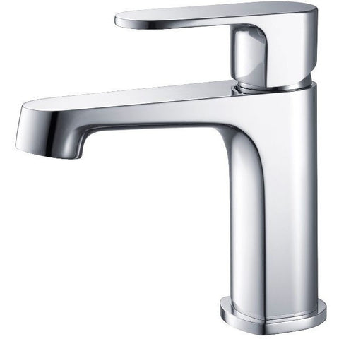 Stufurhome Devon Single Hole Faucet in Chrome - ST4001CH - Bath Vanity Plus