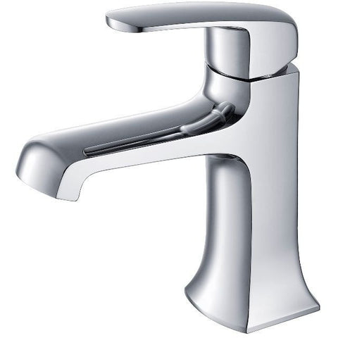 Stufurhome Ella Single Hole Faucet in Chrome - ST9001CH - Bath Vanity Plus