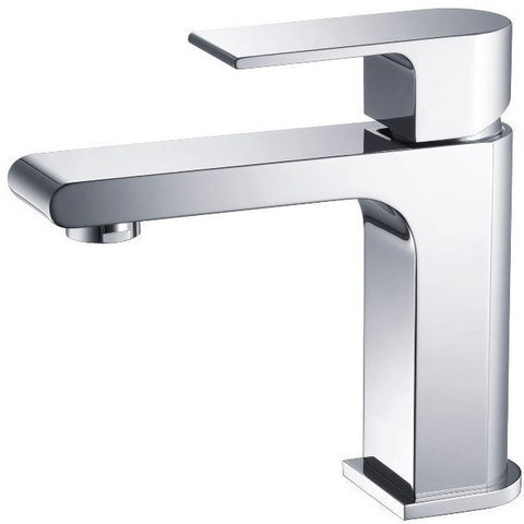 Stufurhome Monty Single Hole Faucet in Chrome - ST5001CH - Bath Vanity Plus