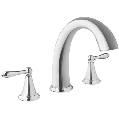 Virtu USA Alexis Polished Chrome Widespread Faucet - PS-265-PC - Bath Vanity Plus