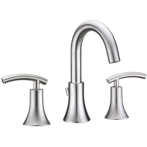 Virtu USA Anthen Brushed Nickel Widespread Faucet - PS-268-BN - Bath Vanity Plus