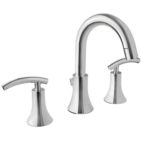Virtu USA Anthen Polished Chrome Widespread Faucet - PS-268-PC - Bath Vanity Plus