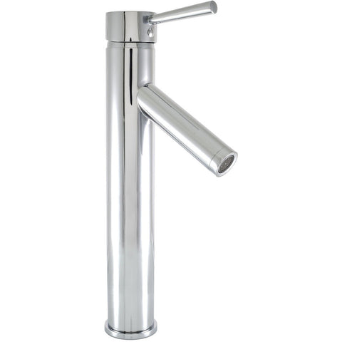 Virtu USA Esto Polished Chrome Single Hole Faucet For Vessel Sinks - PS-104-PC - Bath Vanity Plus