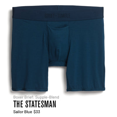 THE STATESMAN QUAD - BLUE