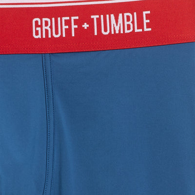 Sportsman premium size boxer briefs for big and tall men. XL, XXL, 3XL, 4XL. option=snorkel blue