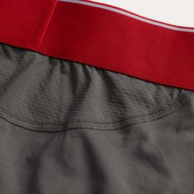 Sportsman premium size boxer briefs for big and tall men. XL, XXL, 3XL, 4XL. option=grey