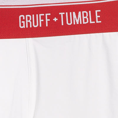 Sportsman premium size boxer briefs for big and tall men. XL, XXL, 3XL, 4XL. option=crispy white