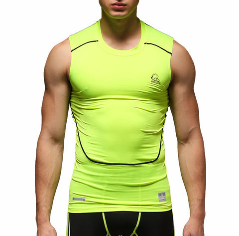 Electric Green Compression Vest