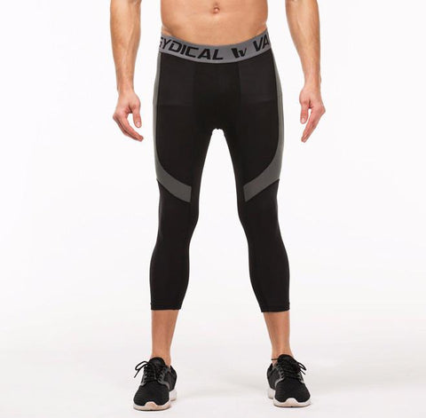 Speed Black ¾ Compression Tights