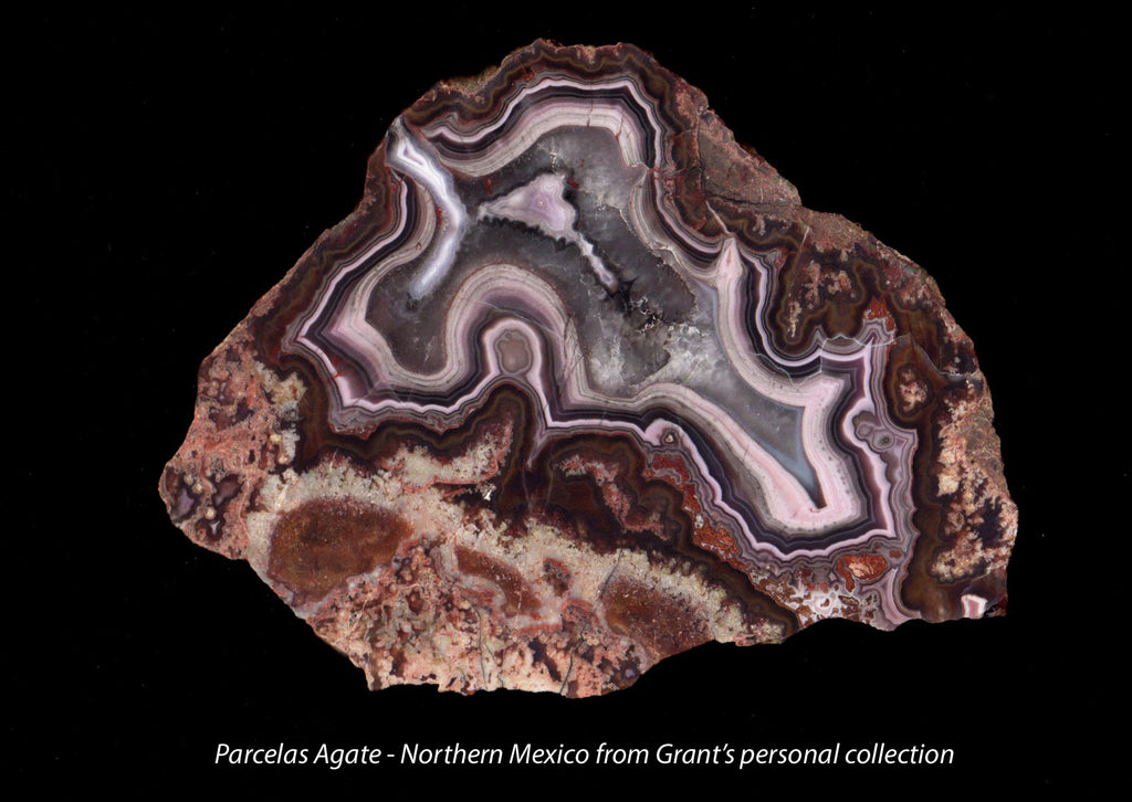 Parcelas Agate from northern Mexico