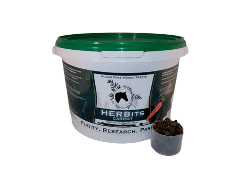 Herbits Carrot (Sugarless Horse Treats) 2.5 kg Pellet