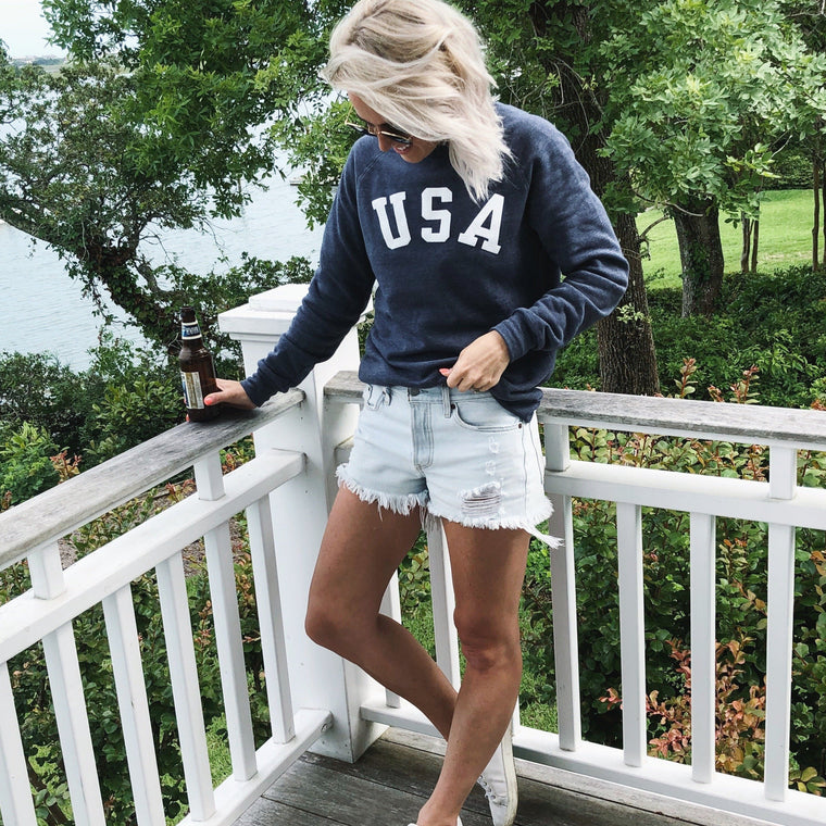 USA sweatshirt- ON SALE
