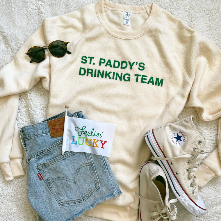 St Paddys Drinking Team