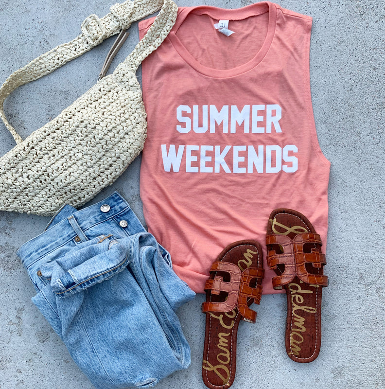 Summer Weekends Tank Top