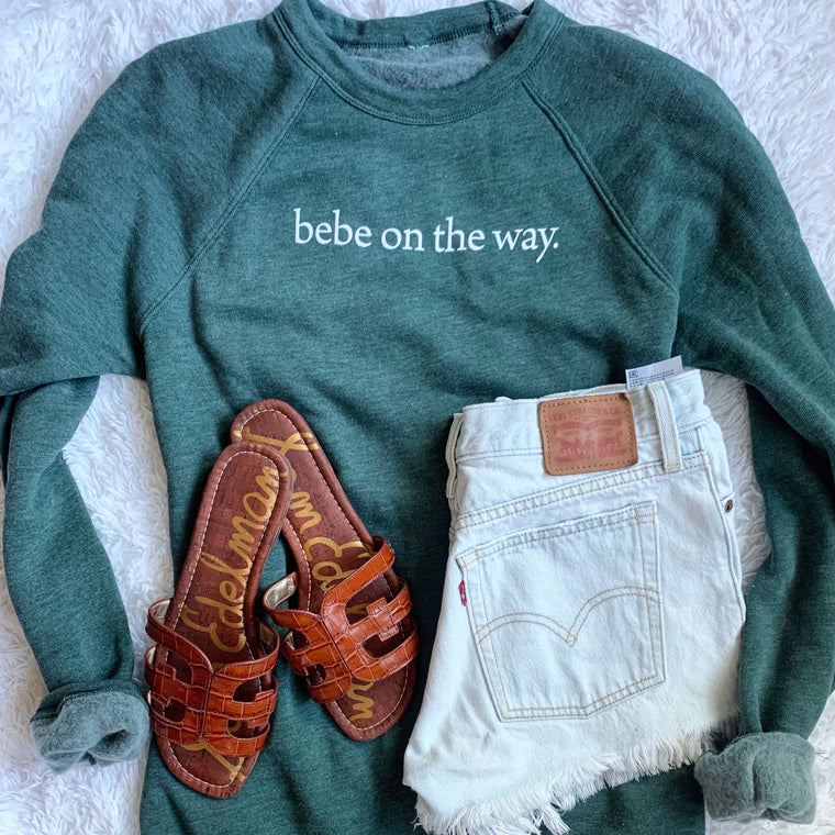 Bebe On The Way sweatshirt