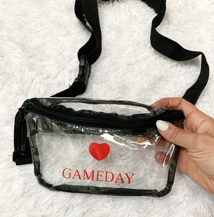 Gameday Heart Clutch