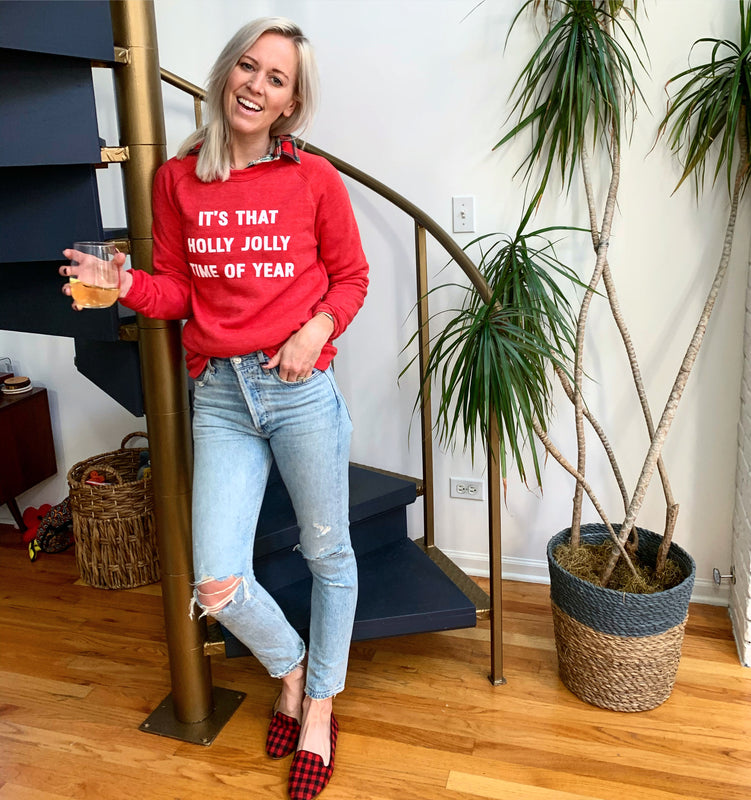 Holly Jolly Sweatshirt - ON SALE