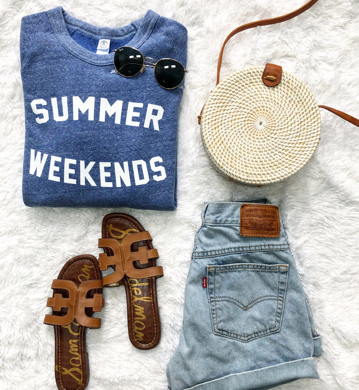 Summer Weekends Sweatshirt