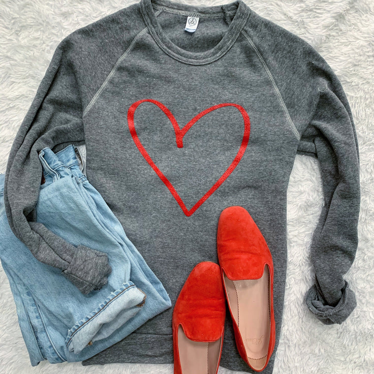 Show Some Heart Sweatshirt