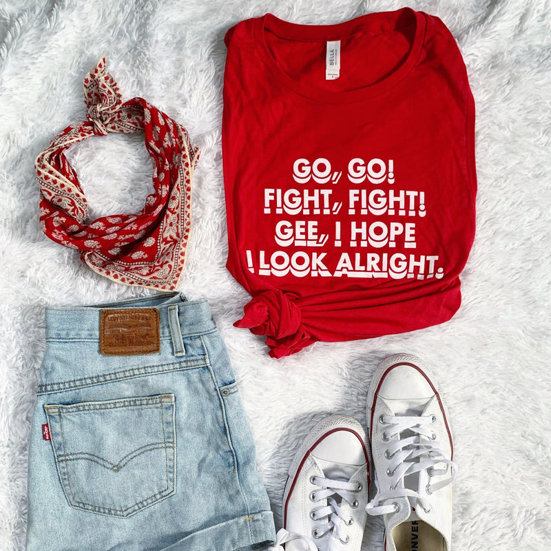 Go go! Fight fight! Tank top