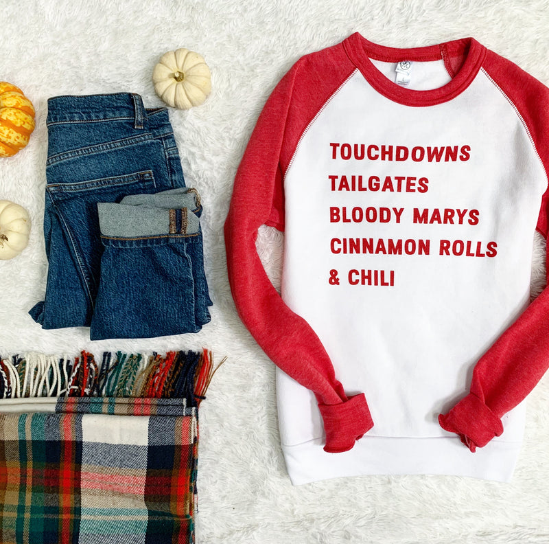Touchdowns Sweatshirt- On Sale