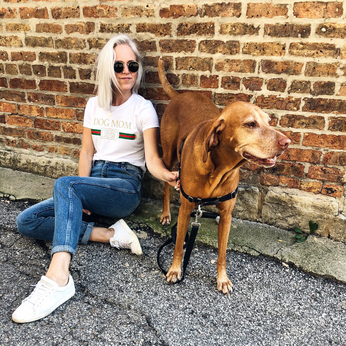 Designer Dog Mom tee