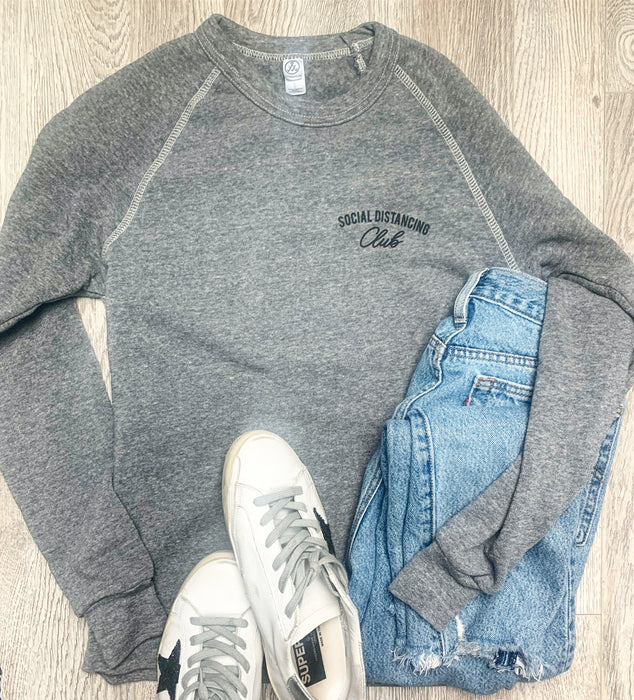 Social Distancing Sweatshirt - Grey Option