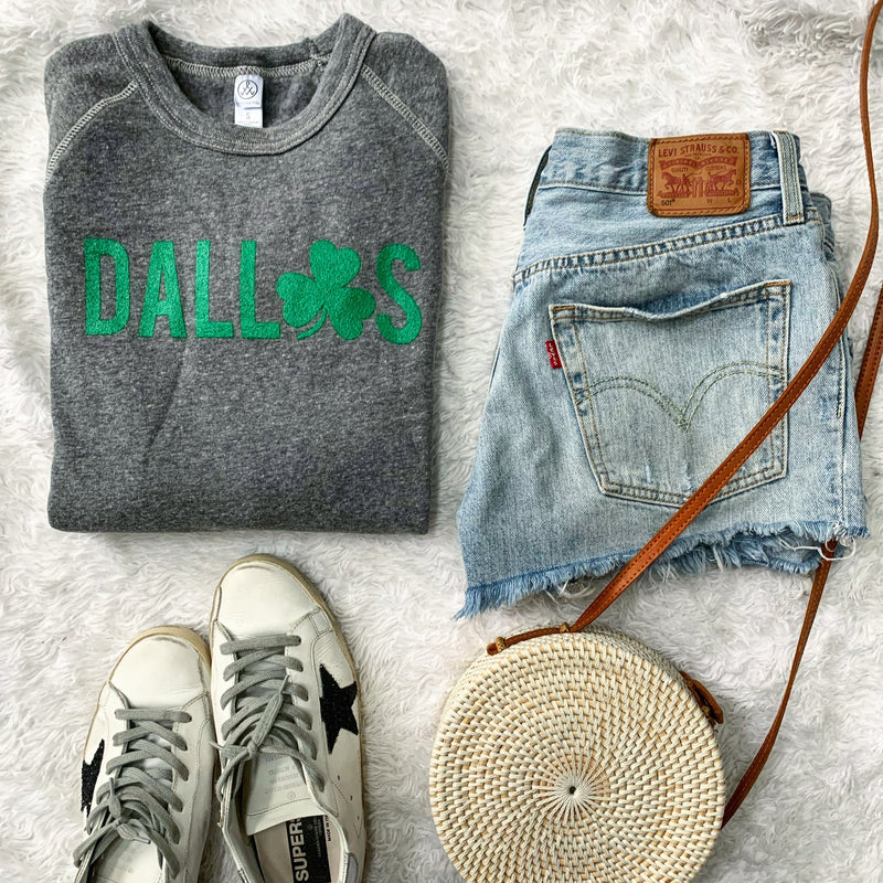 Dallas St. Patrick's Day sweatshirt- ON SALE