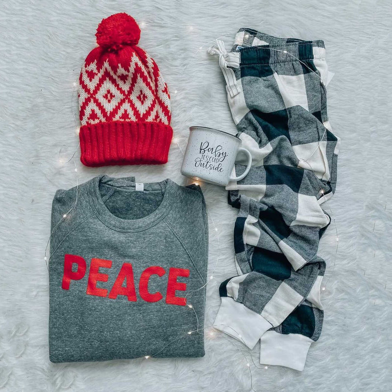 PEACE Sweatshirt- Black Friday Deal