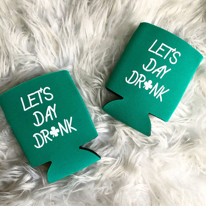 Let's Day Drink pocket coolies - 4 for $14