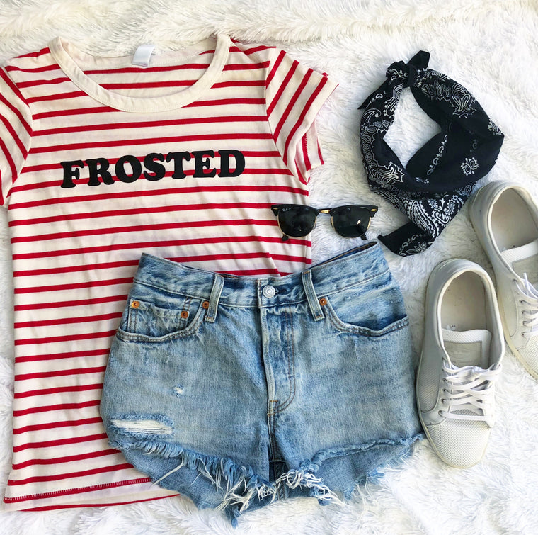 Frosted tshirt
