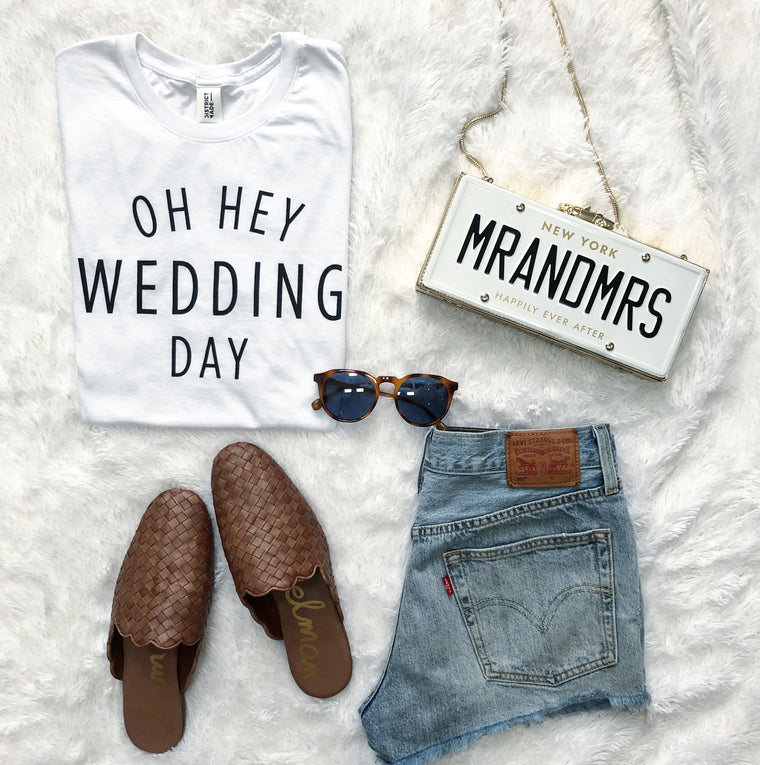 Oh Hey Wedding Day tshirt