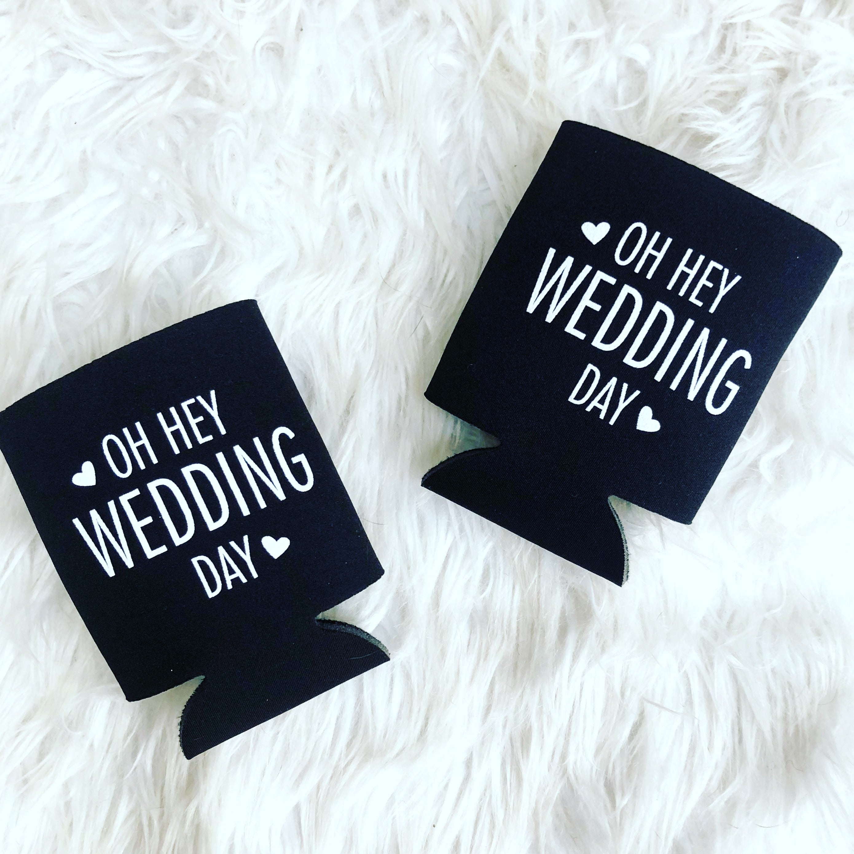 Oh Hey Wedding Day pocket coolies - 4 for $12
