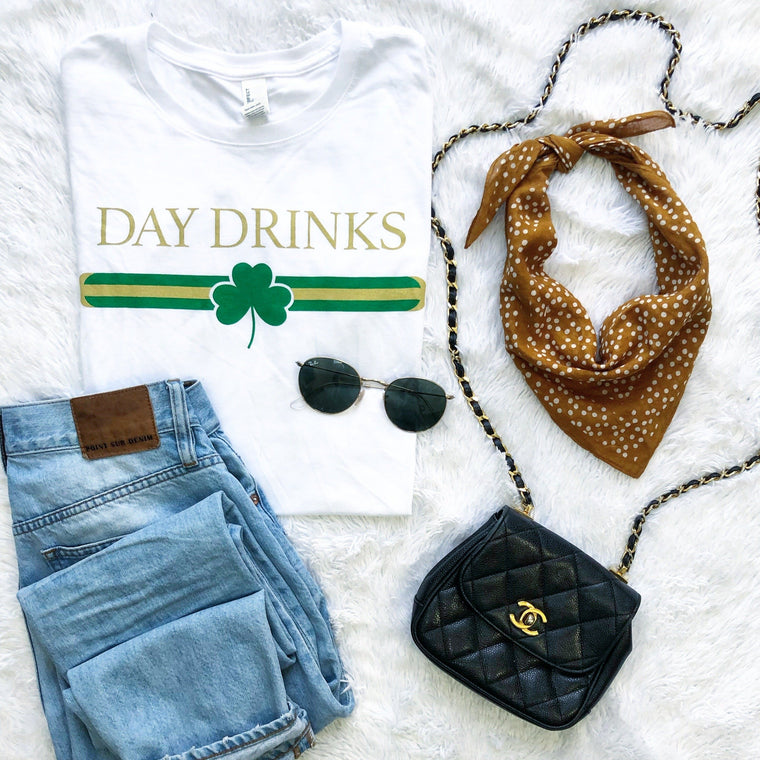 Day Drinks Designer Tee