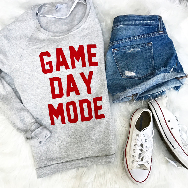 Gameday Mode  sweatshirt