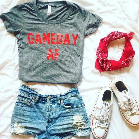 Gameday AF red/grey