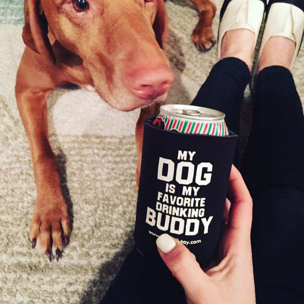 Pocket Coolies- My Dog Is My Favorite Drinking Buddy 4 for 12