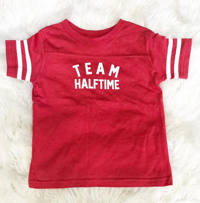 Team Halftime- toddler top